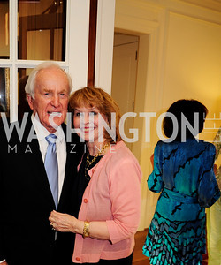 Lloyd Hand,Ann Hand,April 9,2013,Reception for Light Of Healing Hope Foundation at  The Residence of  The French Ambassador,Kyle Samperton