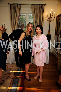 Isabel Ernst, JoAnn Mason,April 9,2013,Reception for Light Of Healing Hope Foundation at thr Residence of  The French Ambassador,Kyle Samperton