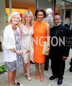 Caroline Croft,Kay Kendall,Shirley Hall,Lou Stovall,June 3 ,2013, Reception for dcgreens,Kyle Samperton
