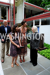Jack Davis,Lauren Shweger Biel,Maggie Gyllenhaal,Ginger Newmyer,June 3 ,2013,Reception for dcgreens,Kyle Samperton