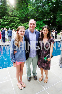 Carlota Andres,Jose Andres,Lauren Shweder Biel,June 3 ,2013, Reception for dcgreens,Kyle Samperton