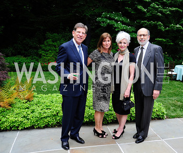 Allan Holt,Shelley Holt,Rene Biel,Howard Biel,June 3 ,2013,Reception for dcgreens,Kyle Samperton