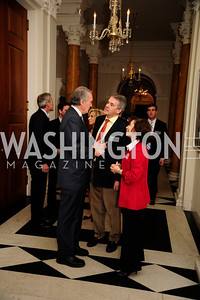 Rep.Ed Markey,Sir Peter Westmacott,Lady Westmacott,January 19,2013,Reception  for The 57th Presidential Inauguration at the Residence of The British Ambassador,Kyle Samperton
