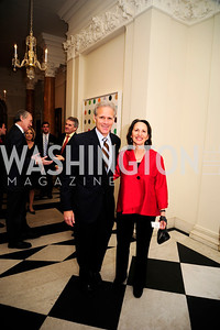Israel Amb.Michael Oren,Sally Oren,,January 19,2013,Reception  for The 57th Presidential Inauguration at the Residence of The British Ambassador,Kyle Samperton