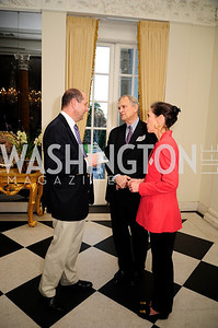 Phillip Barton,Michael Brewer,Janet Brown,January 19,2013,Reception  for The 57th Presidential Inauguration at the Residence of The British Ambassador,Kyle Samperton