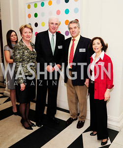 Marie Collins,Irish Amb.Michael Collins,Sir Peter Westmacott,Lady Westmacott,January 19,2013,Reception  for The 57th Presidential Inauguration at the Residence ofthe British Ambassador,Kyle Samperton