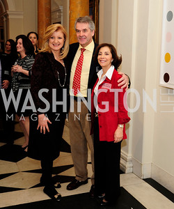 Arianna Huffington,Sir Peter Westmacott,Lady Westmacott,,January 19,2013,Reception  for The 57th Presidential Inauguration at the Residence of The British Ambassador,Kyle Samperton
