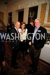 Kenneth LIebenthal ,Jane Liebenthal, Joe Lockhart,January 19,2013,Reception  for The 57th Presidential Inauguration at the Residence of The British Ambassador,Kyle Samperton