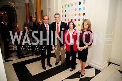 Steven Rattner,Sir Peter Westmacott,Lady Westmacott,Maureen White,January 19,2013,Reception  for The 57th Presidential Inauguration at the Residence of The British Ambassador,Kyle Samperton