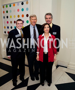 Michael Poneman,Dan Poneman,Sir Peter Westmacott,Lady Westmacott,January 19,2013,Reception  for The 57th Presidential Inauguration at the Residence of The British Ambassador,Kyle Samperton