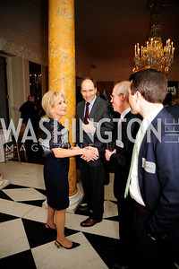 Andrea Mitchell,Marcus Brauchli,January 19,2013,Reception  for The 57th Presidential Inauguration at the Residence of The British Ambassador,Kyle Samperton