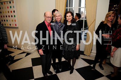 Finley Lewis, Willee Lewis,Alexandra de  Borchgrave,January 19,2013,Reception  for The 57th Presidential Inauguration at the Residence of The British Ambassador,Kyle Samperton