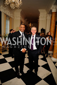Mayor Anthony Fox, Mayor Charlie Hales,January 19,2013,Reception  for The 57th Presidential Inauguration at the Residence of The British Ambassador,Kyle Samperton