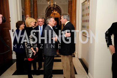 Tom Daschle, Sir PeterWestmacott,January 19,2013,Reception  for The 57th Presidential Inauguration at the Residence of The British Ambassador,Kyle Samperton