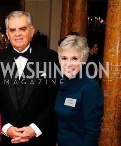 Sec.Ray LaHood,Kathy LaHood,,January 19,2013,Reception  for The 57th Presidential Inauguration at the Residence of The British Ambassador,Kyle Samperton