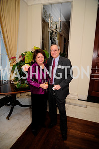 Elaine Rothenberg,Stuart Rothenberg,January 19,2013,Reception  for The 57th Presidential Inauguration at the Residence of The British Ambassador,Kyle Samperton