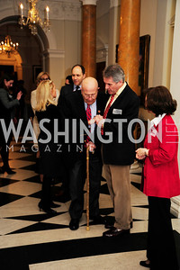 Rep.John Dingell,Sir Peter Westmacott,Lady Westmacott,January 19,2013,Reception  for The 57th Presidential Inauguration at the Residence of The British Ambassador,Kyle Samperton