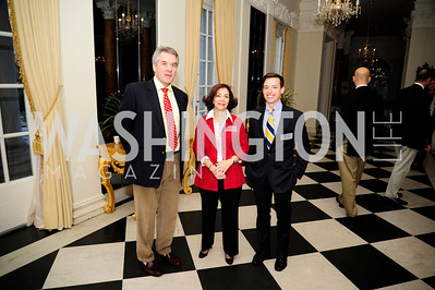 Sir Peter Westmacott,Lady Westmacott,Gideon Bresler,January 19,2013,Reception  for The 57th Presidential Inauguration at the Residence of The British Ambassador,Kyle Samperton