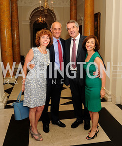 Meryl Chertoff,Michael Chertoff,British Amb. Sir Peter Westmacott,Lady Westmacott,Celebration of the birth of HRH Prince George of Cambridge at the Residence of The British Ambassador,Kyle Samperton