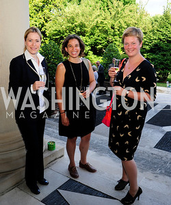 Rachel Grinberg,Keigh Hammond,Roz Campion,July 25,2013,Reception in Celebration of the birth of HRH Prince George of Cambridge at the Residence of The British Ambassador,Kyle Samperton