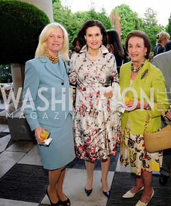 Susan Blumenthal,Alexandra de Borchgrave,Lucky Roosevelt,July 25,2013,Reception in Celebration of the birth of HRH Prince George of Cambridge at the Residence of The British Ambassador,Kyle Samperton