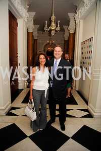 Rose Carter,Paul Carter,July 25,2013,Reception in Celebration of the birth of HRH Prince George of Cambridge at the Residence of The British Ambassador,Kyle Samperton
