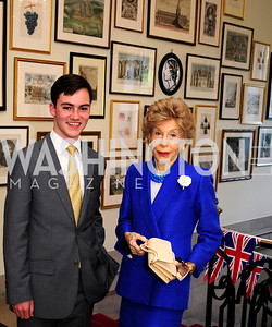 James Adams,Ina Ginsburg,July 25,2013,Reception in Celebration of the birth of HRH Prince George of Cambridge at the Residence of The British Ambassador,Kyle Samperton