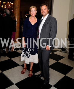 Penny Frei,Matt Frei,July 25,2013,Reception in Celebration of the birth of HRH Prince George of Cambridge at the Residence of The British Ambassador,Kyle Samperton
