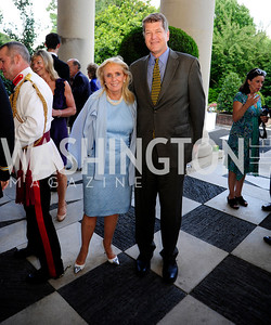 Debbie Dingell,Steve Clemons,July 25,2013,Reception in Celebration of the birth of HRH Prince George of Cambridge at the Residence of The British Ambassador,Kyle Samperton