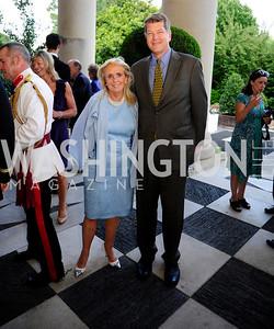 Debbie Dingell,Steve Clemons,July 25,2013,Reception in Celebration of the birth of HRH Prince George of Cambridge at the Residence of The British Ambassador,Kyle Samperton