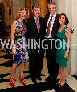 Abby Blunt,Sen. Roy Blunt,British Amb. Sir Peter Westmacott,Lady Westmacott,July 25,2013,Reception in Celebration of the birth of HRH Prince George of Cambridge at the Residence of The British Ambassador,Kyle Samperton