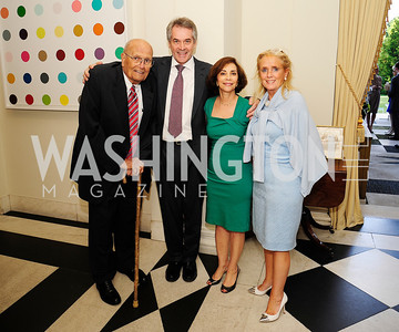 Rep.John Dingell,British Amb. Sir Peter Westmacott,Lady Westmacott,Debbie Dingell,July 25,2013Reception in Celebration of the birth of HRH Prince George of Cambridge at The Residence of The British Ambassador,Kyle Samperton