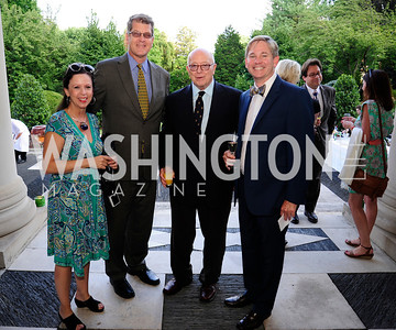 Robin Wright,Steve Clemons,Joe Duffey,Andrew Oros,July 25,2013Reception in Celebration of the birth of HRH Prince George of Cambridge at the Residence of The British Ambassador,Kyle Samperton