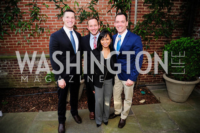 Jeff Taylor, Greg Schneider,Alex Venditti,Rolisa Loreto,April 23,2013,Restore Mass Ave Reception,Kyle Samperton