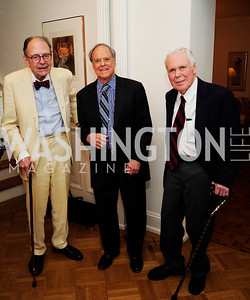 Roger Cortesi,Kenly Webster,George Allen.April 23,2013,Restore Mass Ave Reception,Kyle Samperton