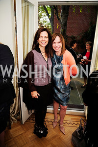 Kim Nettles,Carole Feld,April 23,2013,Restore Mass Ave Reception,Kyle Samperton