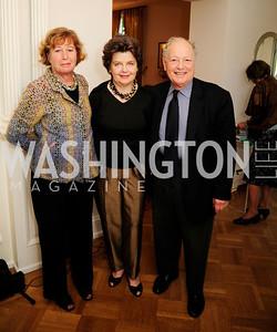 Anita Herrick,Deborah Shapley,Tom Mansbach,April 23,2013,Restore Mass Ave Reception,Kyle Samperton