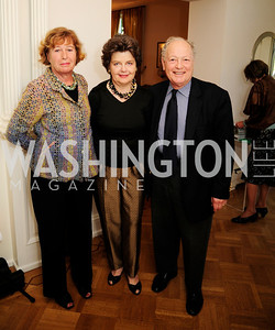 Anita Herrick,Deborah Shapley,Tom Mansbach,April 23,2013,Restore Mass Ave Reception,Kyle Samperton
