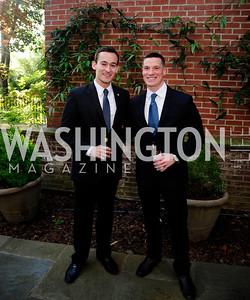 Erick Marin, Jeff Taylor,April 23,2013,Restore Mass Ave Reception,Kyle Samperton