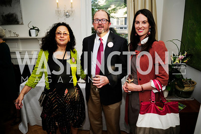 Lina Cortas,Gary Chappell,Adrien Lopez,April 23,2013,Restore Mass Ave Reception,Kyle Samperton