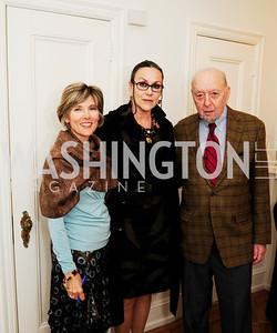 Holly Sukenik,Martha Land,Stuart Land,April 23,2013,Restore Mass Ave Reception,Kyle Samperton