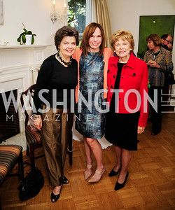 Deborah Shapley,Carole Feld,Bitsy Folger,April 23,2013,Restore Mass Ave Reception,Kyle Samperton