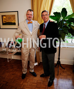 Robert Tarasovich,William Peck,April 23,2013,Restore Mass Ave Reception,Kyle Samperton