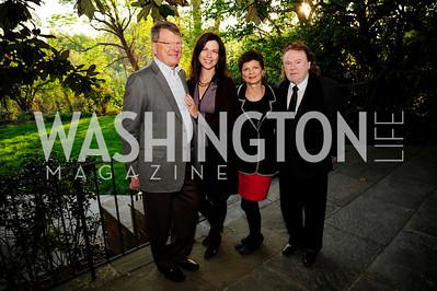 Patrick Nettles,Kim Nettles, Pamela Ginsburg,Yankel Ginsburg,April 23,2013,Restore Mass Ave Reception,Kyle Samperton