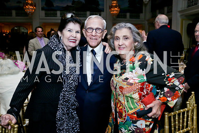 Judith Terra, Roy Pfautch, Nina Selin. Photo by Tony Powell. Roy Pfautch Dinner Honoring the new Ambassador of Japan. Willard Hotel. June 11, 2013