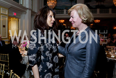 Rohini Talalla, Sen. Tammy Baldwin. Photo by Tony Powell. Roy Pfautch Dinner Honoring the new Ambassador of Japan. Willard Hotel. June 11, 2013