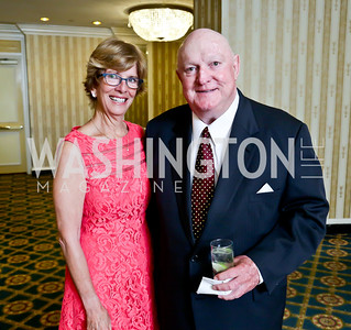 Melinda and Marlin Fitzwater. Photo by Tony Powell. Roy Pfautch Dinner Honoring the new Ambassador of Japan. Willard Hotel. June 11, 2013