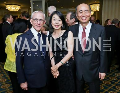 Photo by Tony Powell. Roy Pfautch Dinner Honoring the new Ambassador of Japan. Willard Hotel. June 11, 2013