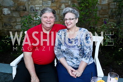 Greg and Robin Stepp. Photo by Tony Powell. Sheila Johnson's family and friends launch of Salamander Resort & Spa. August 29, 2013