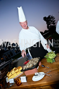 Chef David Pender. Photo by Tony Powell. Sheila Johnson's family and friends launch of Salamander Resort & Spa. August 29, 2013